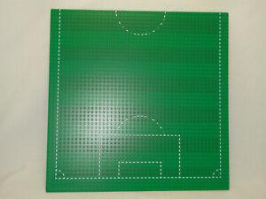 Lego 1 X Fussball Feld Platte Grundplatte 48 X 48