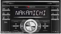 2 Din Bluetooth Car Stereo Radio Am/fm Receiver Cd Usb Mp3 Player Aux, Eq Na788