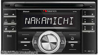 2 Din Bluetooth Car Stereo Radio Am/fm Receiver Cd Usb Mp3 Player Aux, Eq Na788