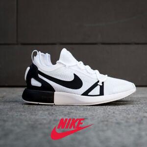 buy online cb2dc 91433 Image is loading Nike-Duel-Racer-Mens-Running-Shoes-White-Black-