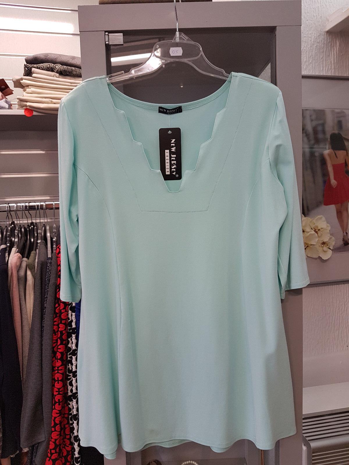 Traumhaftes Shirt von New Jersey FigurschmeichlerGr.L 40 42 in Mint Mint Mint (O5) | Verwendet in der Haltbarkeit  | Am wirtschaftlichsten  | Exquisite Handwerkskunst  | Hohe Qualität und günstig  | Wunderbar  68a519