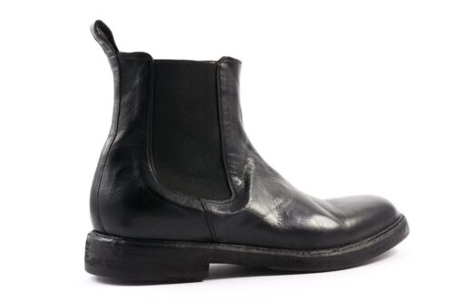 41 Chelsea Boxed Vittorio New Virgili Boots Black z7xIq6