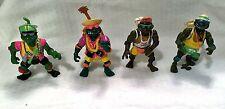 Teenage Mutant Ninja Turtles Loose Action Figure Lot of 4 Sewer Spitting TMNT