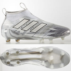 093d445444c2 Image is loading adidas-Ace-17-Purecontrol-FG-Football-Boots-Grey-