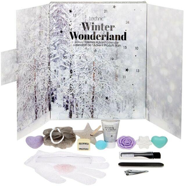 Technic Winter Wonderland 24 Days Cosmetic Advent Calendar Christmas Gift Xmas