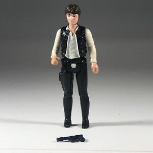 Vintage-1977-Kenner-Star-Wars-Han-Solo-Big-Head-Hong-Kong-Action-Figure-Complete