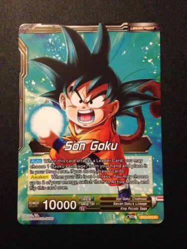 Dragonball Super Son Goku Legacy Bearer BT4-072 R Son Goku