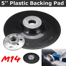 5″ Rubber Sanding Backing Pad Polishing Tool For Angle Grinder/&M14 Drill Thread