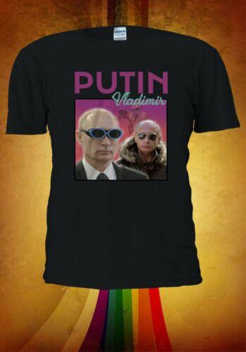Vladimir Putin Glasses Men Women Unisex T-shirt Vest Baseball Hoodie  3108