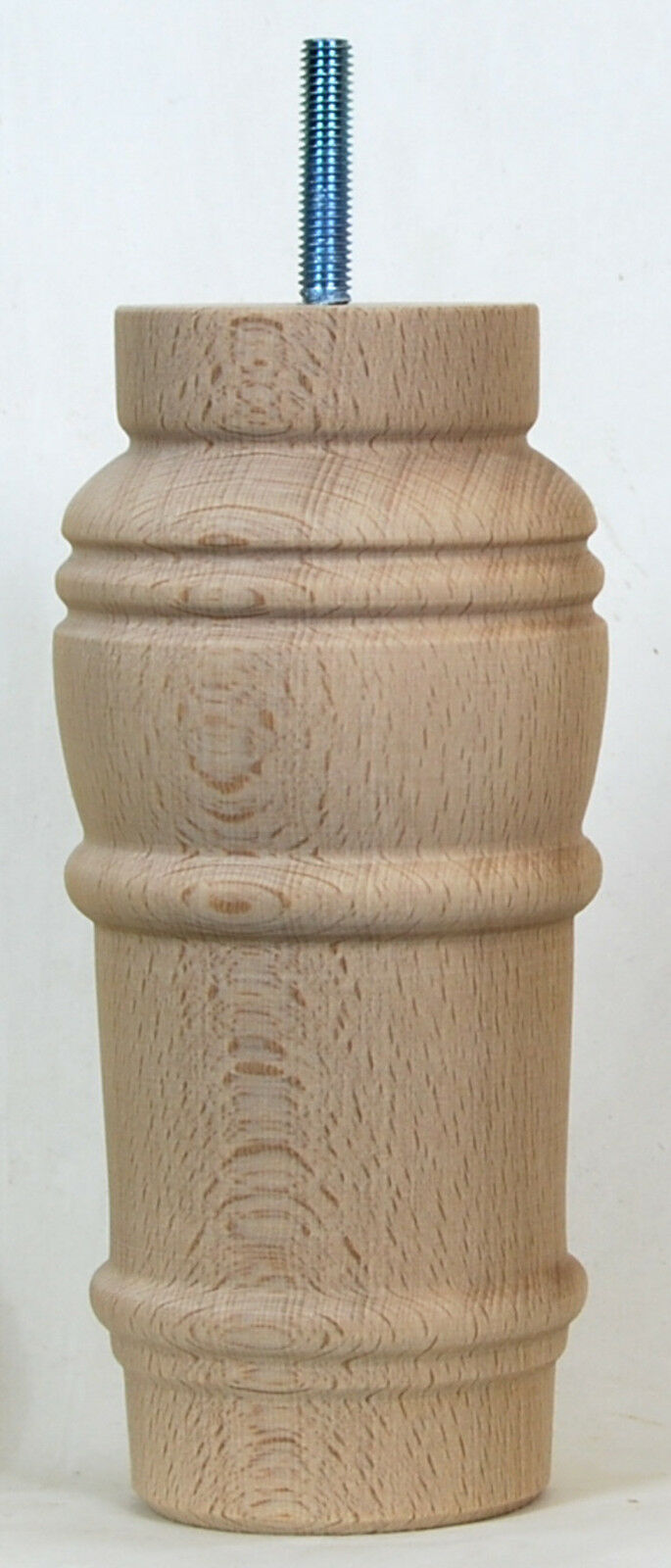 6 WOODEN FURNITURE LEGS, CHAIR LEG FEET, SOFA RISERS, WOODEN FOOTSTOOL LEGS E730