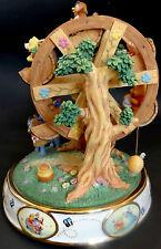 "Disney Music Box Winnie Pooh Ardleigh Elliott NIB COA Musical Ferris Wheel 9"""