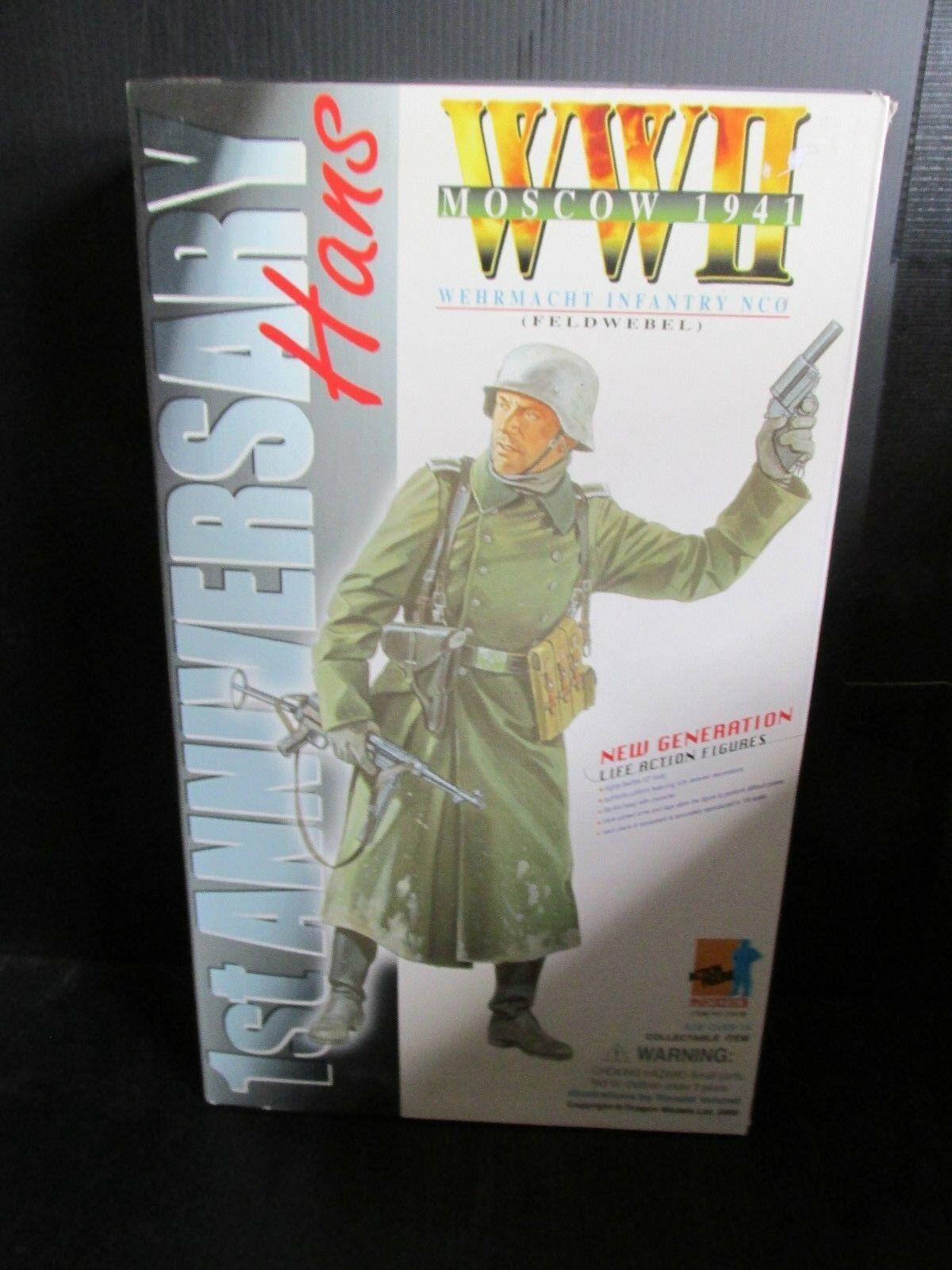 Dragon+ 1 6th scale Action figures WW11 MOSCOW 1941  HANS