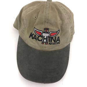 Kachina Aviation dad hat cap beige  hbx68