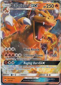 Charizard-GX-HOLO-Burning-Shadows-20-147-M-NM-Pokemon-Karte-EN