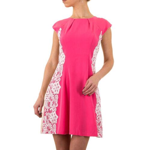 Damen Kurzes Spitzen Kleid 2209 Ital-design