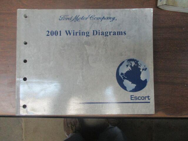 2001 Ford Escort Factory Oem Wiring Diagrams Manual