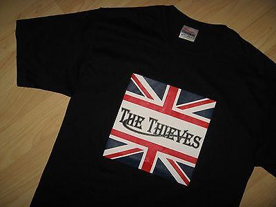 The Thieves Tee - Union Jack UK England Flag Music Concert Black T Shirt Medium