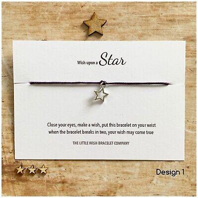 Wish bracelet Hamsa hand wish bracelet David star