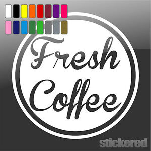 2-x-FRESH-COFFEE-VINYL-STICKERS-DECALS-SIGNS-FOR-SHOP-DOOR-GLASS-WINDOW