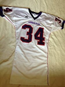 cheap for discount b5b75 3bf36 Details about Russell Men's Stephen F. Austin State SFA Lumberjacks #34  Game Worn Jersey Sz L