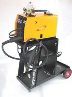 Dual Function Mig 160 & Arc Welding Machine & Argon Co2 Regulator Gauge & Cart