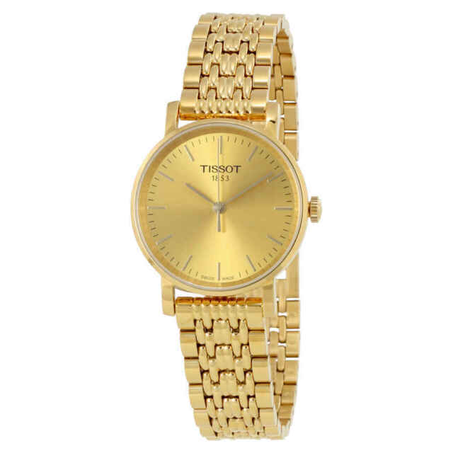 5c66d8012af1 Tissot T-classic Champagne Dial Ladies Watch T1092103302100 for sale ...