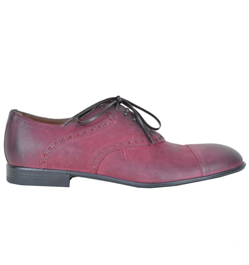 DOLCE & GABBANA Schuhe Bordeaux Rot Shoes Red Chaussures Rouge 02431
