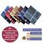100-Cotton-Mens-Gents-Handkerchiefs-Hankies-Large-6pcs-Dark-Colour-48cm-19inch thumbnail 1