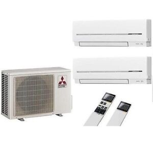 Mitsubishi electric duo split inverter klimaanlage