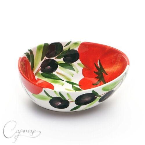 Bassano Céramique de bol 11 Cm Tomates Avec O motif d/'Italie NEUF
