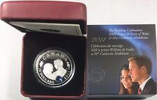 2011 Canada $20 Fine Silver 1 Oz Coin Royal Wedding  #34806