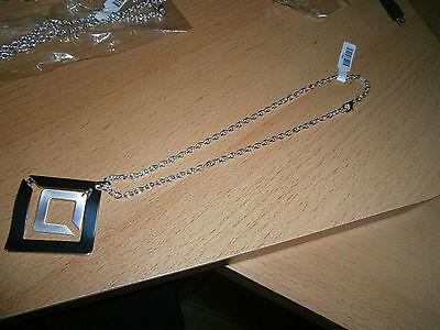 1 Filigrane Silberfarbene Halskette - Neu Und Ungetragen - Modeschmuck Mit Den Modernsten GeräTen Und Techniken