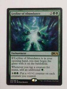 Leyline of Abundance Rare MTG Magic Core Set 2020