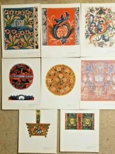 8-Color-Prints-Norwegian-Designs-034-old-rose-paint-from-telemark-034-Portfolio