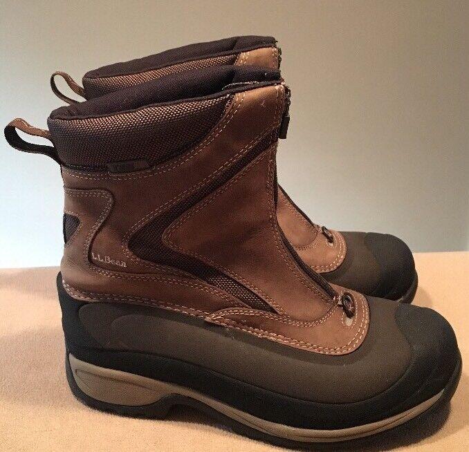 Damens's LL Bean Tek 2.5 Winter Stiefel 9M Größe 9M Stiefel Braun Primaloft Excellent 475c21