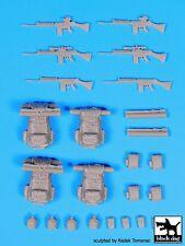 Black Dog 1/35 FN FAL Automatic Rifles & Bergen Backpacks Falklands War F35093