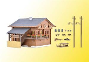 Kibri 38011 Gauge H0 Mountain Lodge Incl House Lights Starter Set