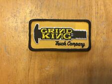 NOS Grind King Truck Company Skateboard Patch