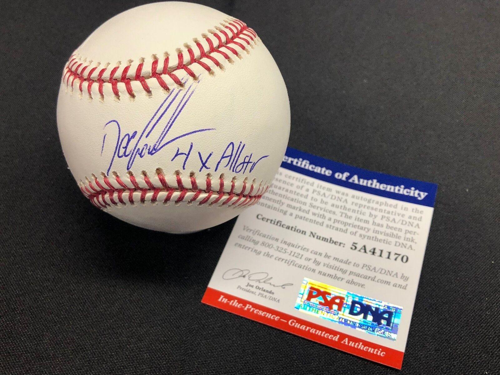Dwight Gooden Signed Shea Stadium Major League Baseball