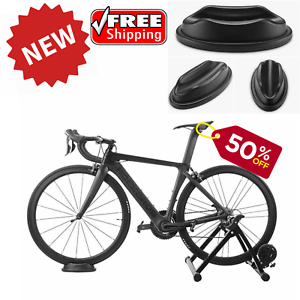 5 Level Resistance Magnetic Indoor Bicycle Bike Trainer Exercise Stand Black