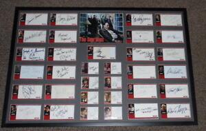 The-Sopranos-Cast-Signed-Framed-25x37-Framed-Photo-Display-33-Autos-Inkworks