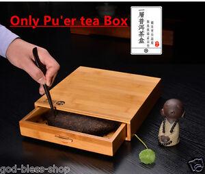 Image Is Loading Pu 039 Er Tea Cake Storage Box Bamboo