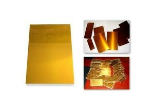 1 PC Hot Stamping Water Soluble Photopolymer Plate A4 Size