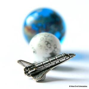 22mm Earth Fly Me To The Moon 12mm Mond Murmeln /& Miniatur Space Shuttle Set