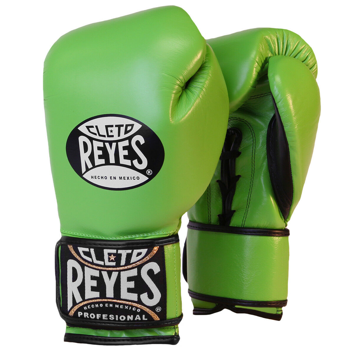 Cleto Reyes  Lace Up Hook and Loop Hybrid Boxing G s - Citrus Green  come to choose your own sports style