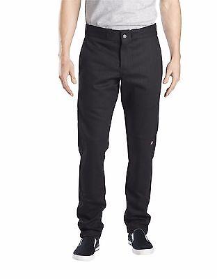 Dickies WP811 Men/'s Dark Navy Flex Skinny Straight Fit Double Knee Work Pant