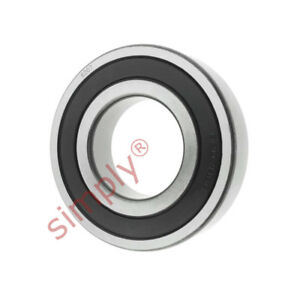 62072RS Budget Rubber Sealed Deep Groove Ball Bearing 35x72x17mm