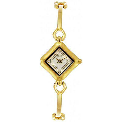 TIMEX Classy Gold Plated Chain Watch for Women & Girls XV01