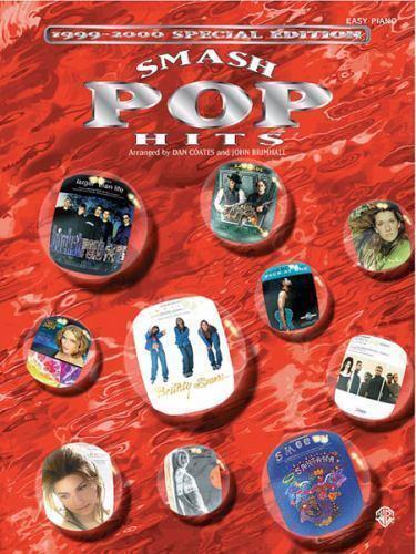 1999 2000 smash pop hits easy piano
