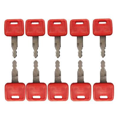 10 PCS Ignition Key H800 AT194969 AT147803 for John Deere Case Dozer New Holland